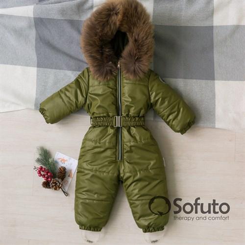 Комбинезон зимний Sofuto outwear kids V6 Khaki - фото 15329