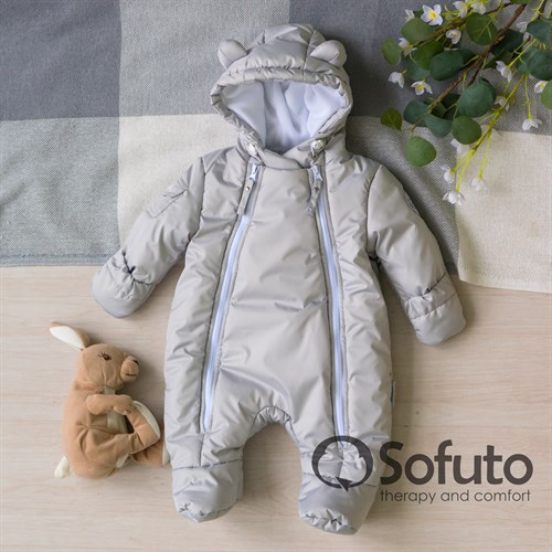 Комбинезон демисезонный Sofuto outwear V4 Gray