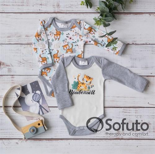 Набор боди длинный рукав Sofuto baby Tiger