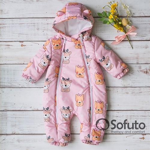 Комбинезон демисезонный Sofuto outwear V4 toddler Bambi - фото 15443