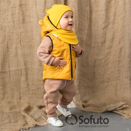 Жилет демисезонный Sofuto outwear Mustard