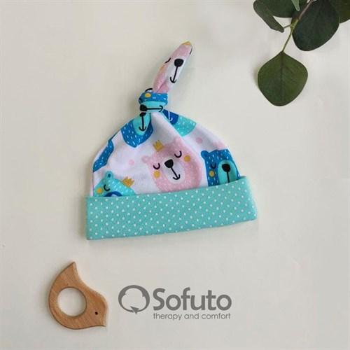 Шапочка узелок Sofuto Baby Osito