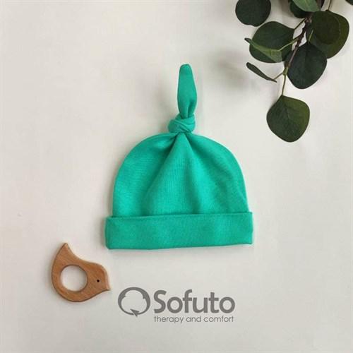 Шапочка узелок Sofuto Baby Mint
