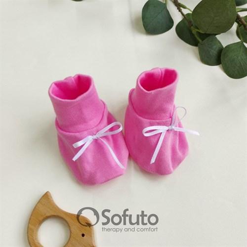 Пинетки для новорождённых Sofuto baby Pink