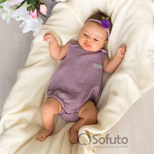 Ромпер муслиновый Sofuto baby Lila