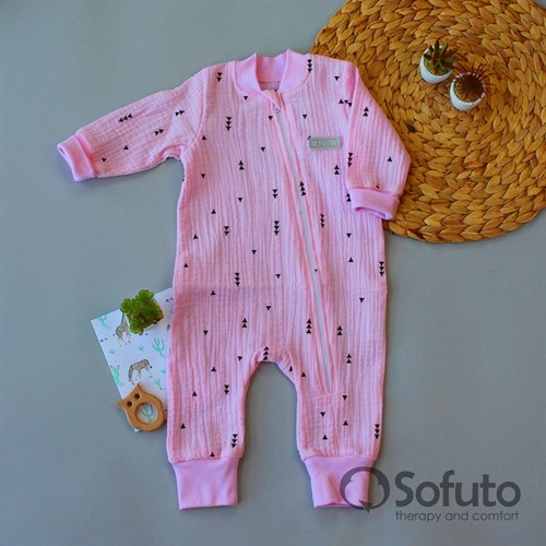 Cлип муслиновый на молнии Sofuto baby Mia - фото 16002