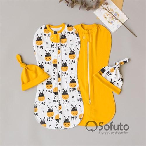 Комплект пеленок Sofuto Sensitive line Deer