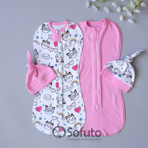 Комплект пеленок Sofuto Sensitive line Caticorn