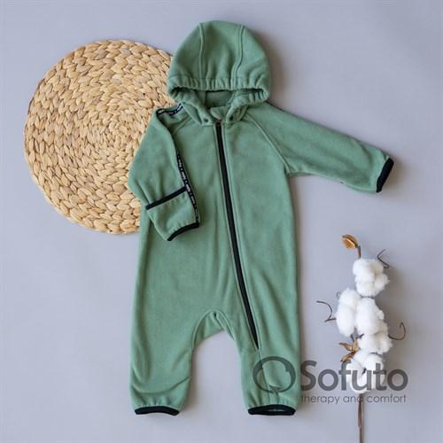 Комбинезон-поддёва Sofuto baby Fleece Green