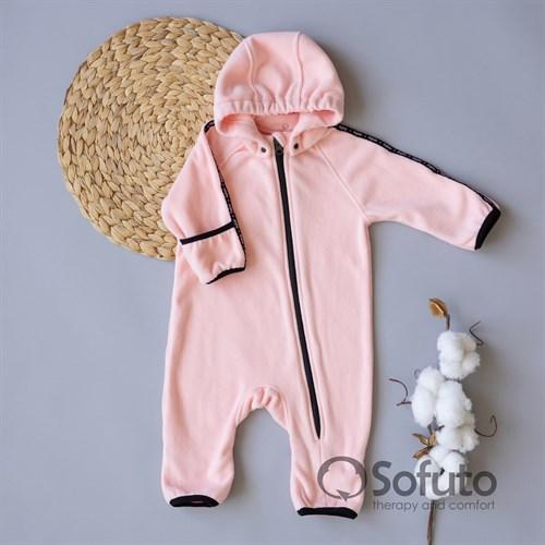 Комбинезон-поддёва Sofuto baby Fleece Peach