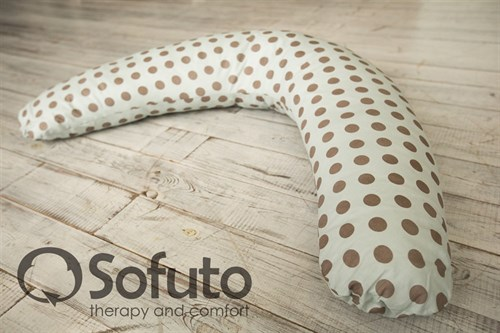 Подушка Sofuto ST Polka dot gray - фото 3939