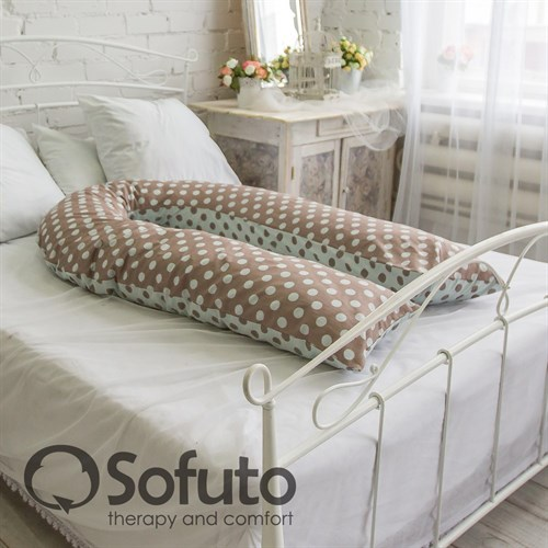 Чехол на подушку Sofuto UComfot Polka duble - фото 4165