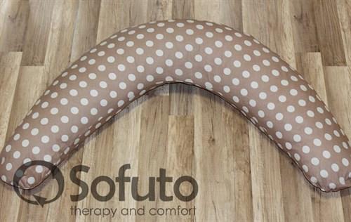 Чехол на подушку Sofuto ST Polka dot chocco - фото 4179