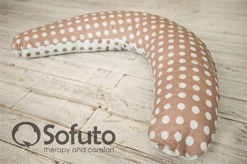 Подушка Sofuto ST hard Polka duble - фото 4443