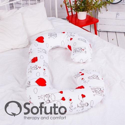 Подушка Sofuto CСompact Fly heart - фото 4615