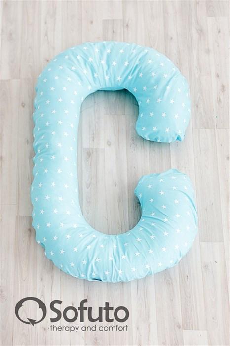 Подушка для беременных Sofuto CСompact Stars Aqua - фото 4709