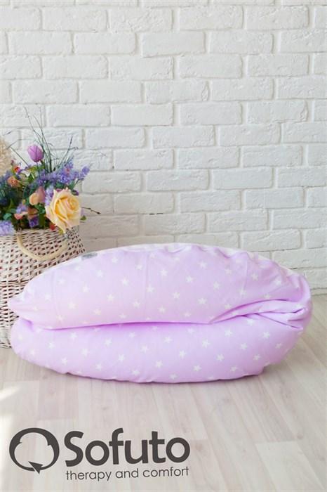 Подушка для беременных Sofuto ST hard Stars and waves zefir - фото 4727