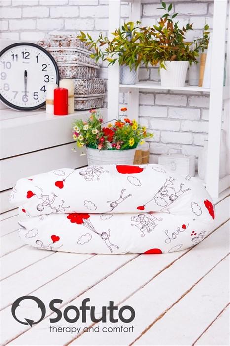 Подушка для беременных Sofuto ST hard Fly heart - фото 4762