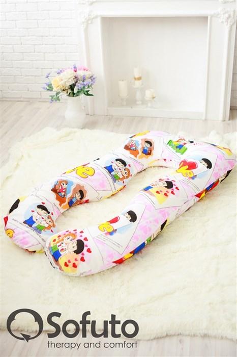 Подушка для беременных Sofuto UAnatomic Love is - фото 4863