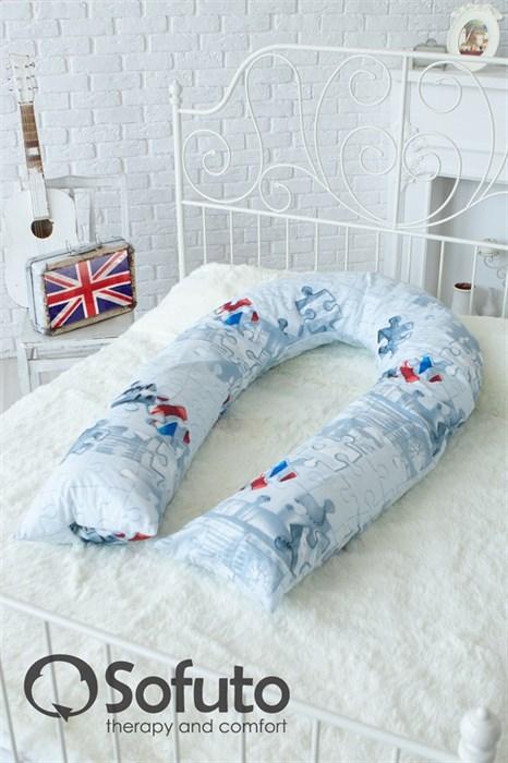 Чехол на подушку Sofuto UComfot London - фото 4896