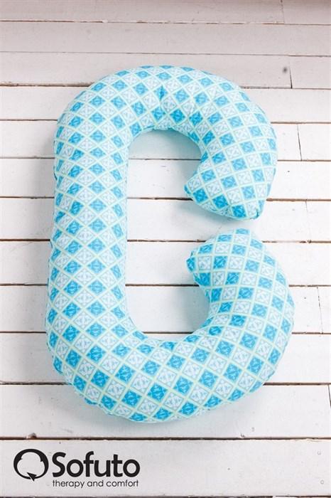 Чехол на подушку для беременных Sofuto CСompact Icicle - фото 4941