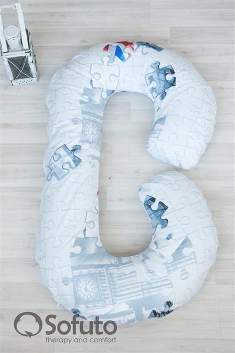 Чехол на подушку для беременных Sofuto CСompact London - фото 4949