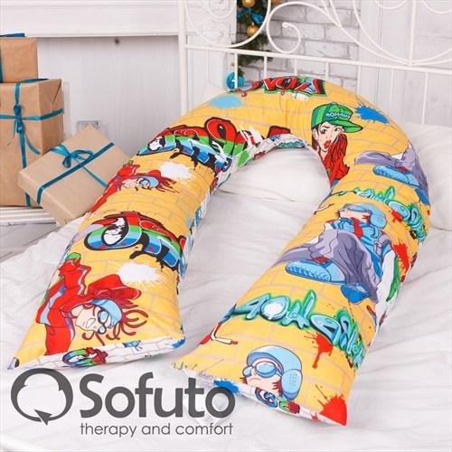 Чехол на подушку для беременных Sofuto UComfot hip-hop - фото 5002