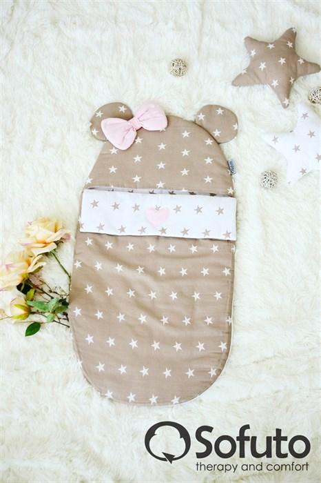 Конверт для новорожденного Sofuto Latte girl - фото 5242