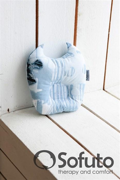 Подушка для новорожденного Sofuto Baby pillow Batman - фото 5310