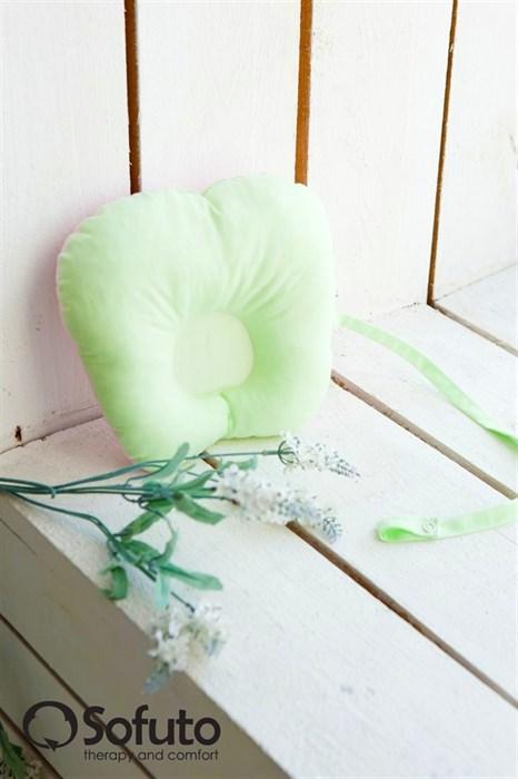 Подушка для новорожденного Sofuto Baby pillow Greeny - фото 5316