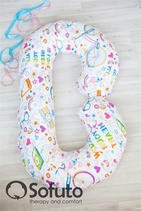 Чехол на подушку для беременных Sofuto CСompact Holiday - фото 5549