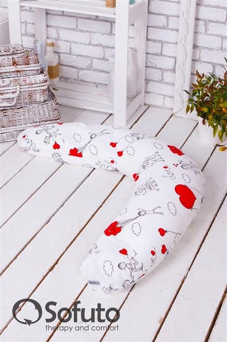 Чехол на подушку для беременных Sofuto ST Fly Heart - фото 5567