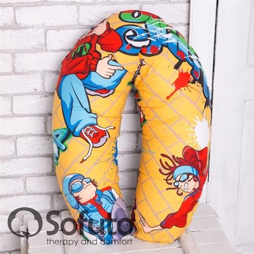 Чехол на подушку для беременных Sofuto ST Hip-hop - фото 5569