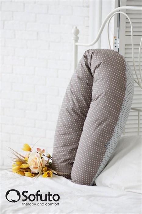 Подушка для беременных Sofuto ST Polka mini dot duble - фото 5645
