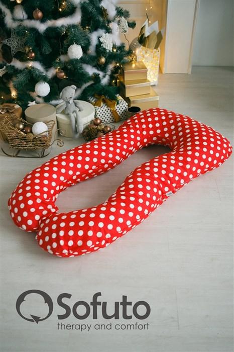 Подушка для беременных Sofuto UAnatomic Red dots - фото 6143