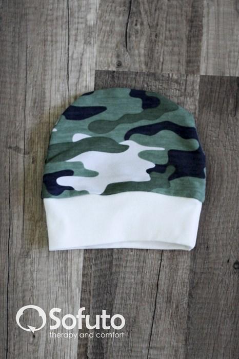 Шапочка Sofuto Baby military - фото 6281