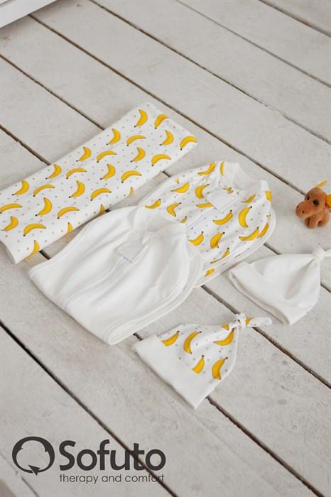 Комплект большой Sofuto Swaddler banana - фото 6615