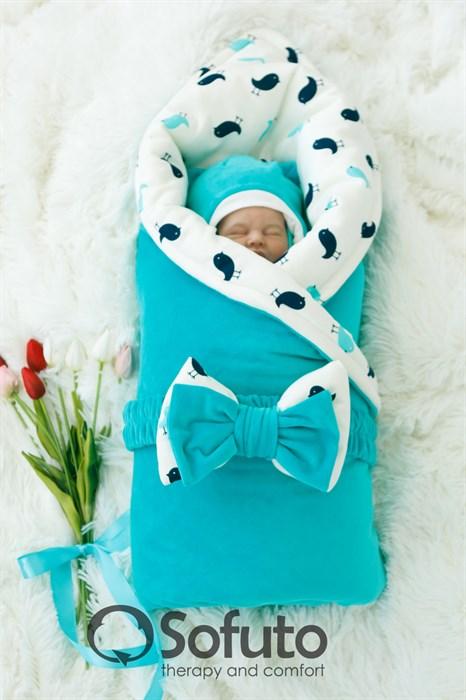 Комплект на выписку демисезонный (7 предметов) Sofuto baby Vincent - фото 6668