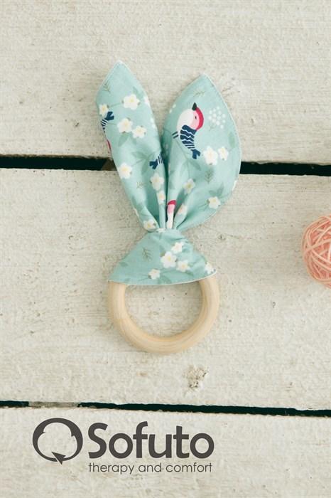 Прорезыватель Sofuto baby Милые ушки Ptashka - фото 6920