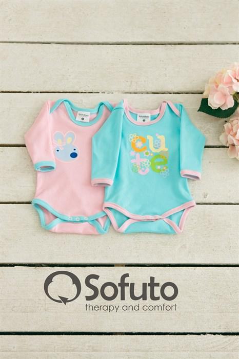Комплект боди (2 предмета) Sofuto baby Bon-bon - фото 6974