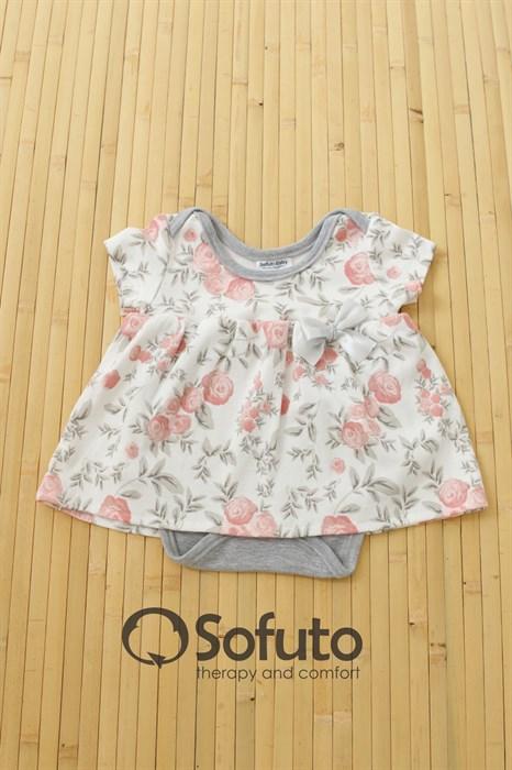 Боди детское с юбочкой Sofuto baby Vintage - фото 7601