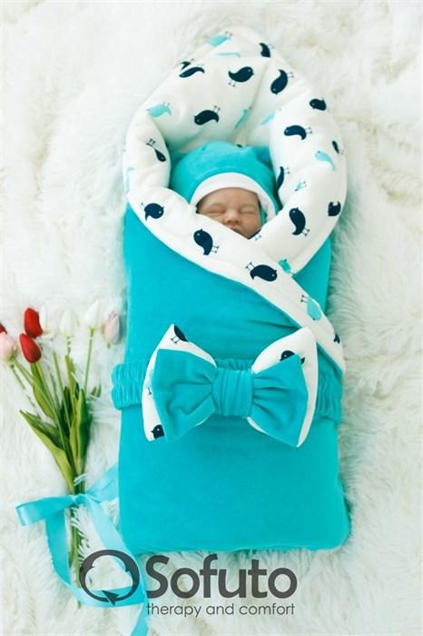 Комплект на выписку зимний (7 предметов) Sofuto baby Vincent - фото 7747