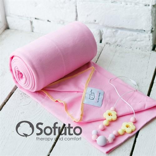 Слинг-шарф трикотажный Sofuto Babysling pink - фото 7816