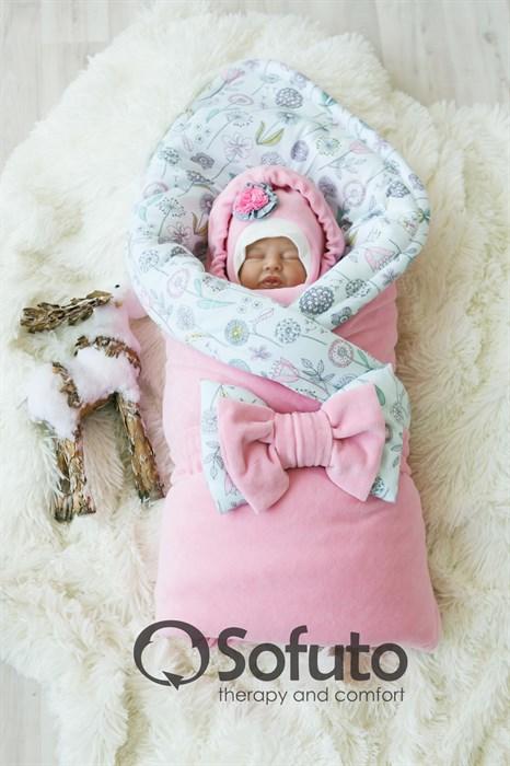 Комплект на выписку зимний (7 предметов) Sofuto baby Puffi - фото 7859