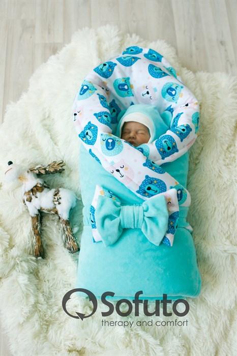 Комплект на выписку зимний (7 предметов) Sofuto baby Osito - фото 7890