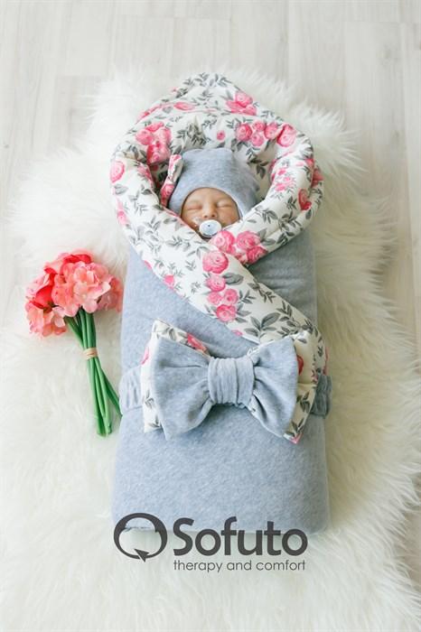 Комплект на выписку зимний (7 предметов) Sofuto baby Vintage - фото 7962