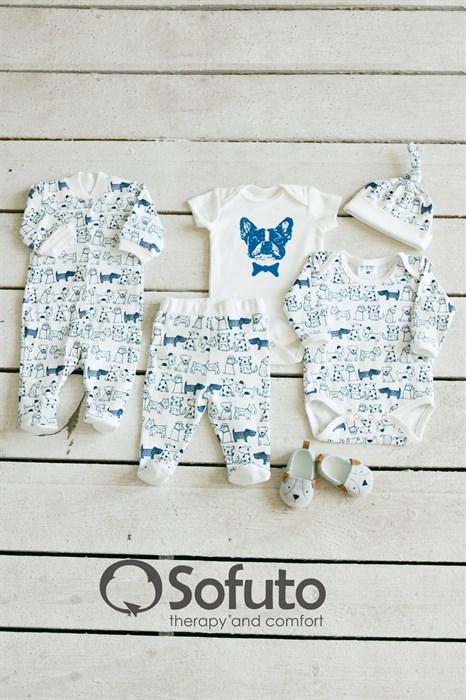 Комплект одежды 5 предметов Sofuto baby Dogs - фото 8018