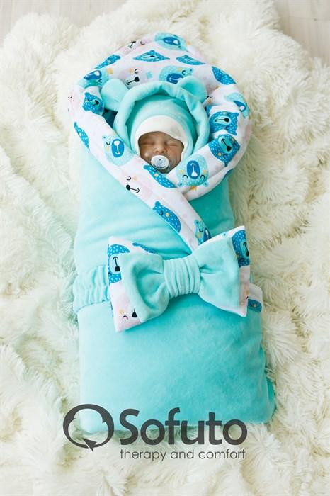 Комплект на выписку холодная зима (7 предметов) Sofuto baby Osito - фото 8117