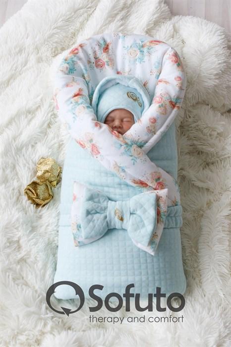 Комплект на выписку холодная зима (7 предметов) Sofuto baby Pavlina - фото 8474