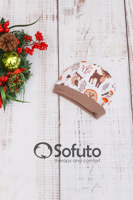 Шапочка Sofuto Baby Forest animals - фото 9047